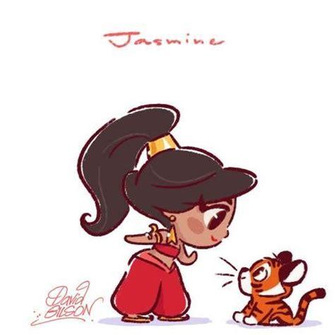 jasmine aladdin the art of david gilson | disney magic