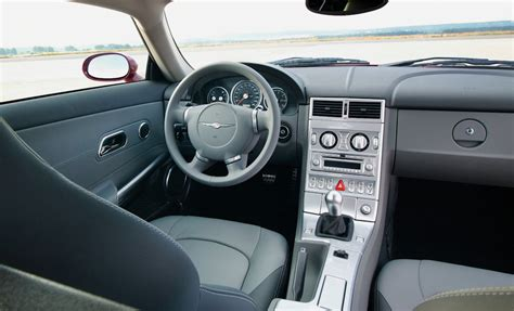 Chrysler Crossfire Interior by 090602 03 Chrysler Crossfire Coupe Interior Hooniverse