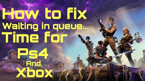 fortnite queue times fix how fortnite how to fix waiting in queue time doovi