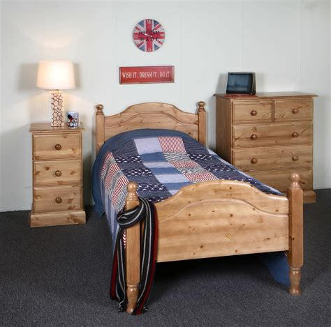 hilton beds realwoods solid pine bed the hilton single super