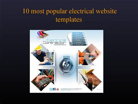 10 Best Electrical Website Templates By Tonytemplates Issuu Electrician Website Template