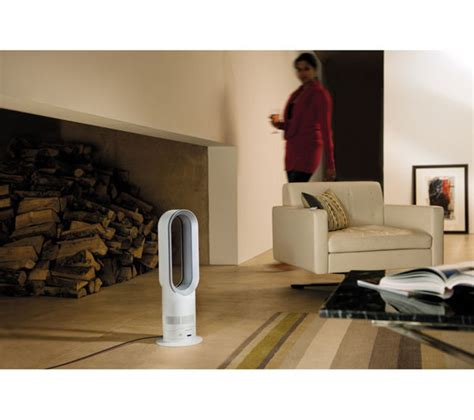 dyson am05 cool fan heater white silver buy dyson am05 cool fan heater white silver