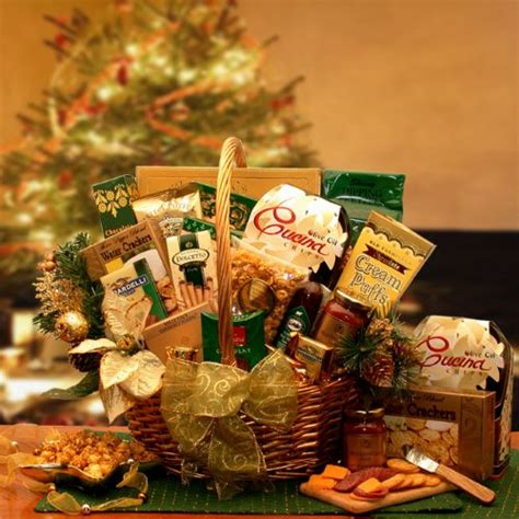 yuletide holiday gourmet food christmas gift basket