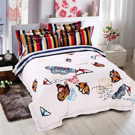 butterfly queen comforter set butterfly print capa de edredon set sp2459 queen size