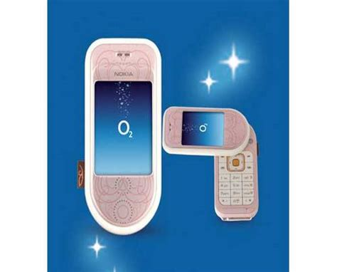 Nothing Special About The Nokia 7373 by Nokia 7373 Mobile Phone In Pink And On The O2