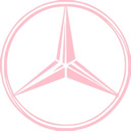pink mercedes png pink mercedes icon free pink car logo icons