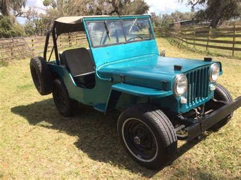 1948 Willys Jeep For Sale 1948 Willys Cj2a Running Jeep For Sale Willys Cj2a