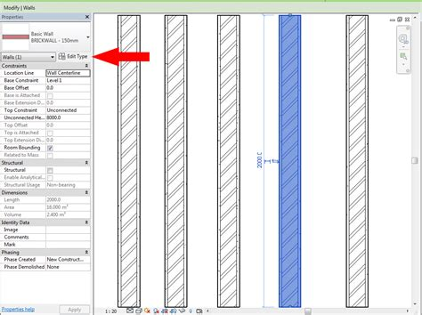 revit wall pattern not showing akrimee makhtar revit 3 creating a 3 lines brickwall hatch