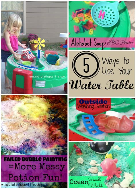 how is the water table where i live 5 ways to play with a water table my big