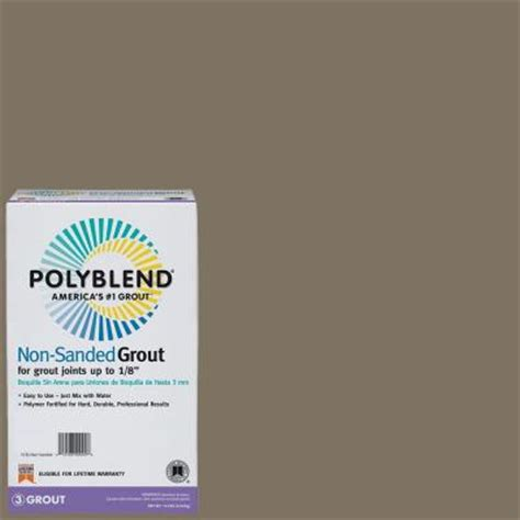 custom building products polyblend 541 walnut 10 lb non