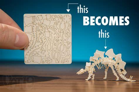 Diy Miniatur Papercraft Taman Safari tinysaurs diy small scale skeletal paper models