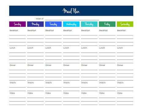 meal plan template excel grocery list template excel karalina s kitchen printables grocery list meal planner