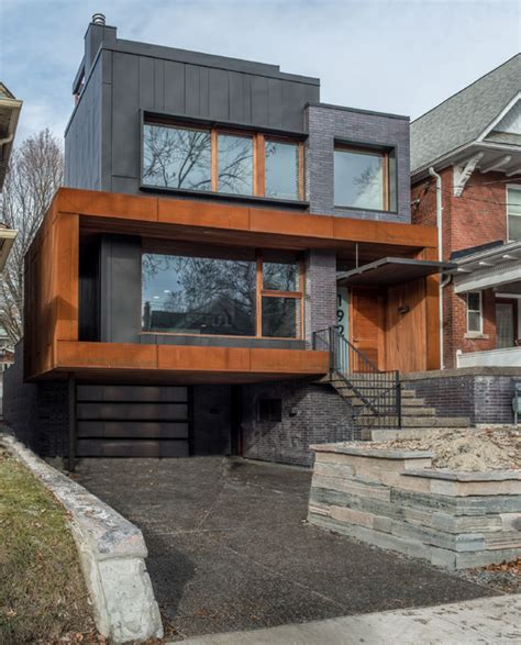 southview modern home contemporary exterior toronto grenadier house contemporary exterior toronto by