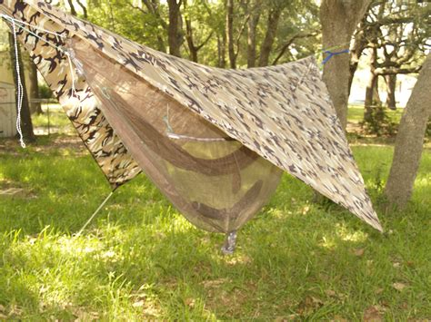 Hammock With Bug Net And Fly ultralite bike touring adventure bicycle touring