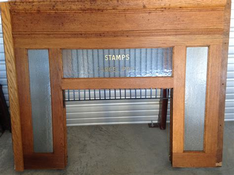 antique office furniture for sale u s post office window for sale antiques classifieds