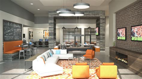 Apartment Leasing Office Design Our Clubhouse And Leasing Office Are Now Open The