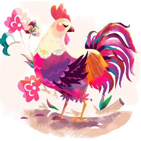 lainey new year rooster year of the rooster on wacom gallery