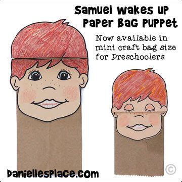 paper bag crafts for preschoolers 17 best images about church bible samuel on