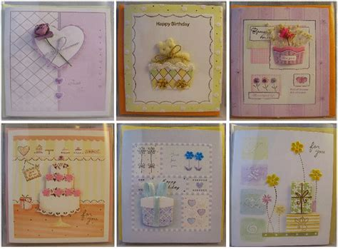 Handmade Cards With Ribbon - new 3d handmade ribbon friendship birthday greeting
