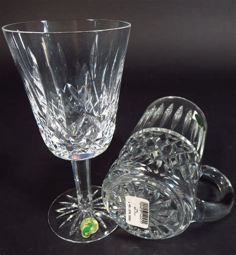 waterford pattern history igavel auctions 80 pc waterford cut glass stemware and