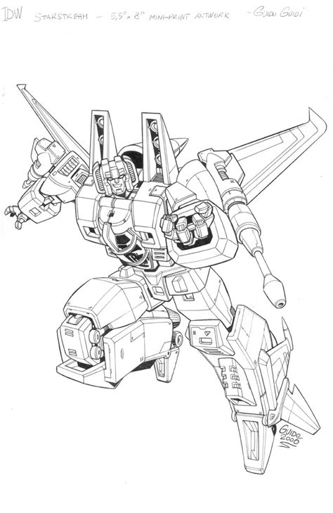 starscream coloring page idw starscream card by guidoguidi on deviantart