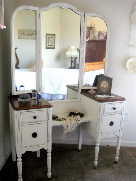 antique dresser with mirror redo a comfy little place of my own antique vanity redo