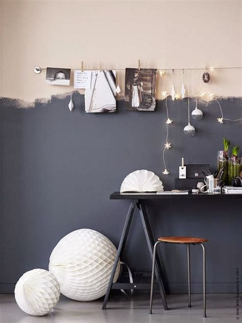 How To Decorate A Half Wall by Chic Half Painted Walls That You Will To See