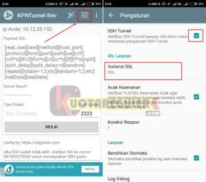 konfig kpn tunnel config kpn tunnel revolution videomax work terbaru