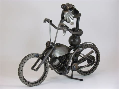 Wood Collection Motor Rider yardbirds metal leonard motorcycle