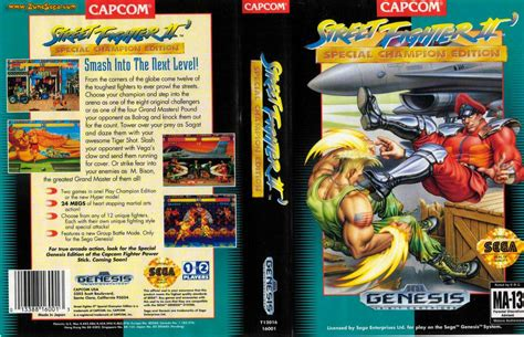 Kaset Sega Mega Drive Ori Fighter Ii Special Chion Edition fighter ii trilogy coming to wii u console this week nintendo day one patch