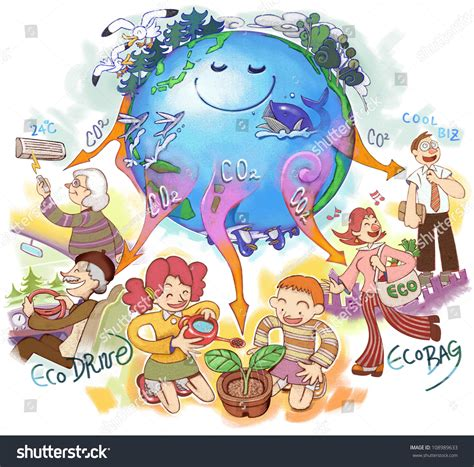 design for environment global issues global environmental issues stock photo 108989633