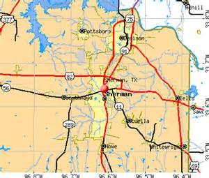 sherman tx 75090 profile population maps real
