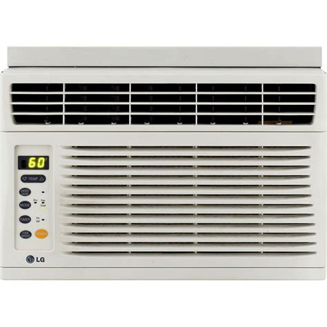 lg 6 000 btu window mounted air conditioner with remote
