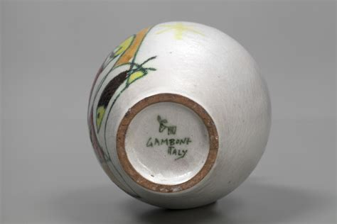 List Of Designers Jacksons Vase Guido Gambone