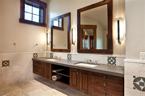 White Wood Framed Bathroom Mirrors by Bathroom Mirrors Framed Wood Best Decor Things