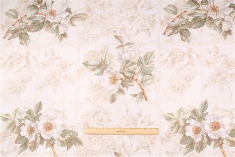 white linen drapery fabric beacon hill rosa canina printed linen cotton drapery