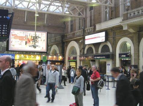 Euston Rail Station - London England