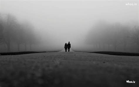 black and white couple wallpaper love couple walk on the road hd young couple wallpaper