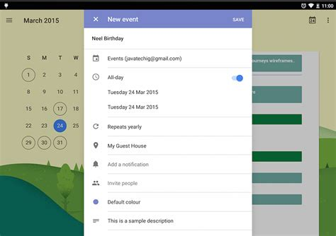 android studio calendar tutorial how to add event to calendar in android stacktips