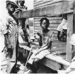 Many african american children in the rural south like these