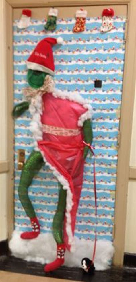 best christmas door decoration winners 1000 images about doors on door decorating contest door