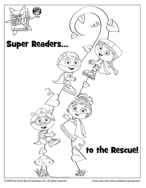 Super Why Coloring Pages Az Coloring Pages Why Coloring Pages