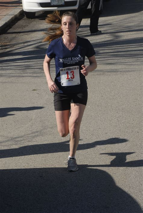 In Alesha Overall out of hibernation 5k 171 maine running photos