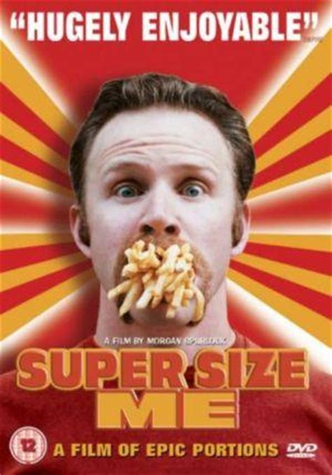 spurlock supersize me k analysis of quot supersize me quot