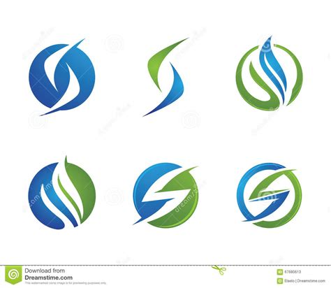 Finance Letter Stock S Letter Finance Logo Stock Vector Image 67680613