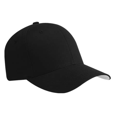 Baseball Hat Black plain flexfit fitted baseball cap hat black l xl ebay