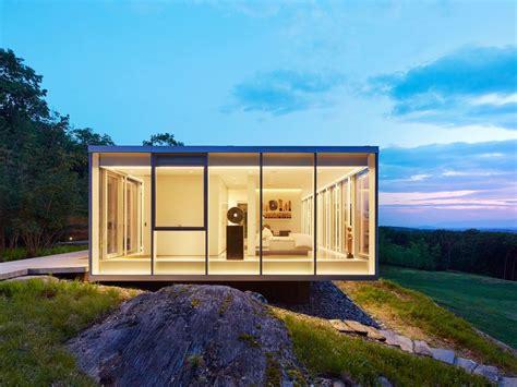 Who Created Houses Toshiko Mori Designed Glass Houses Dot This