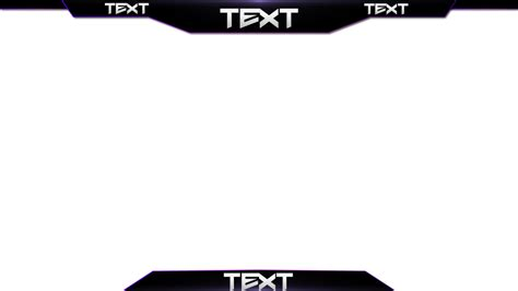 twitch layout template free twitch overlay template