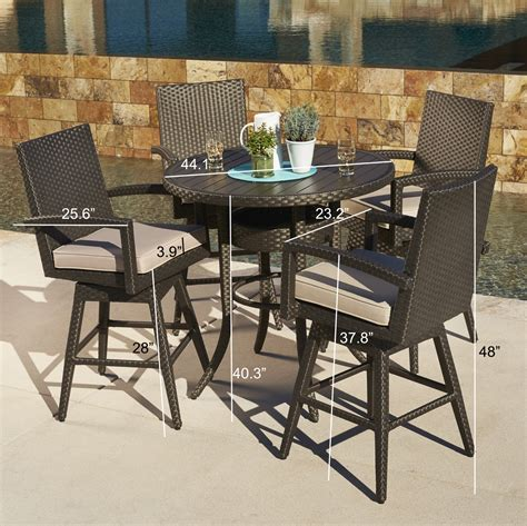 mission hills dining room set sidney 5pc bar height dining collection mission hills