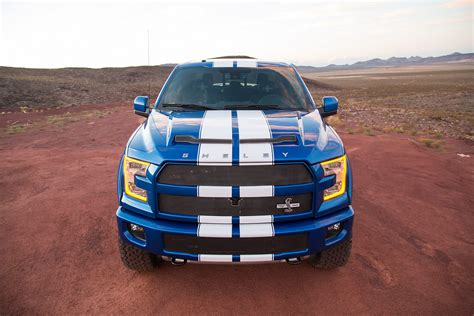2018 shelby f150 shelby brings the blue thunder to sema with 700hp f 150